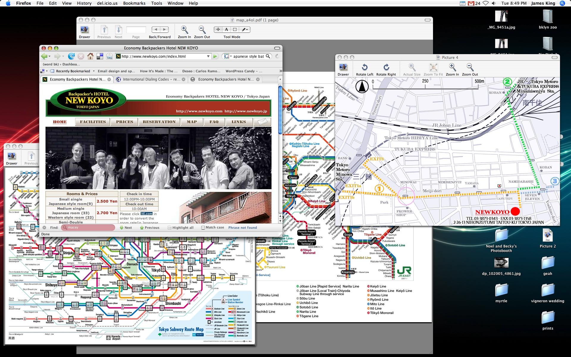 desktop tokyo