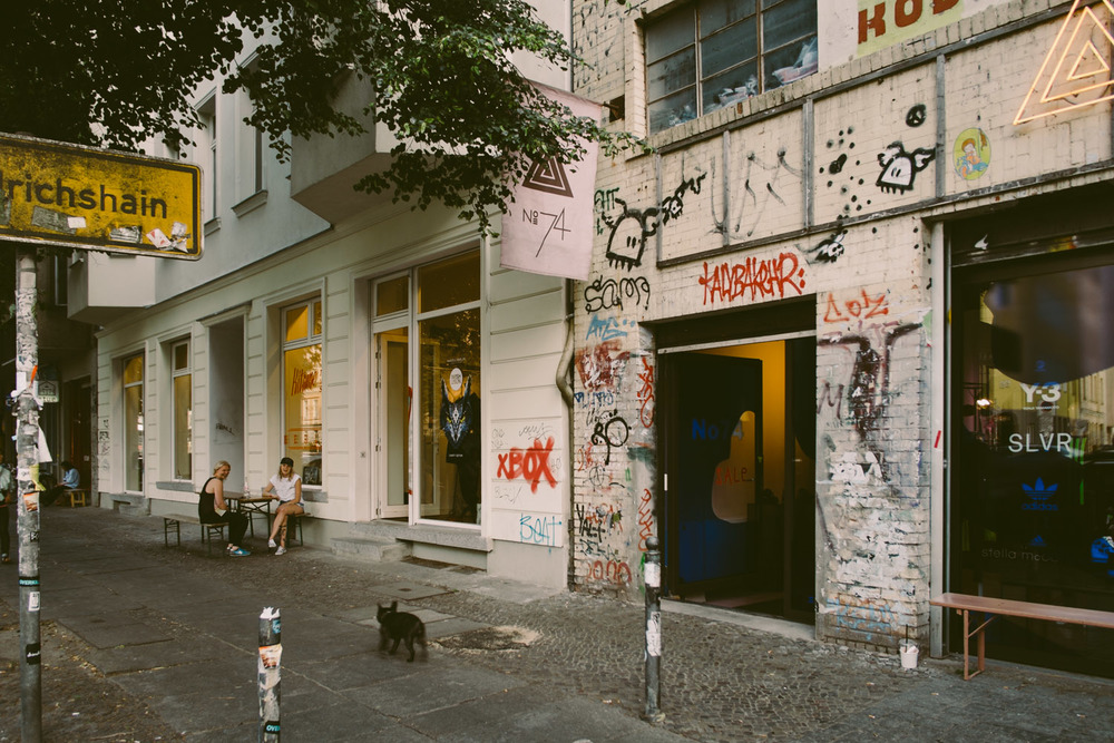 Near Soto which is one of my favorite store in Berlin