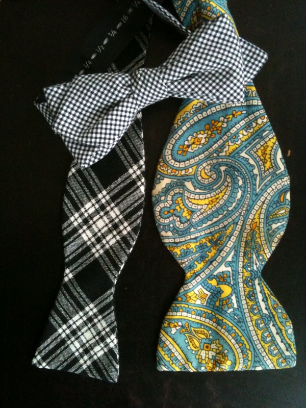 Bowtie options for prom