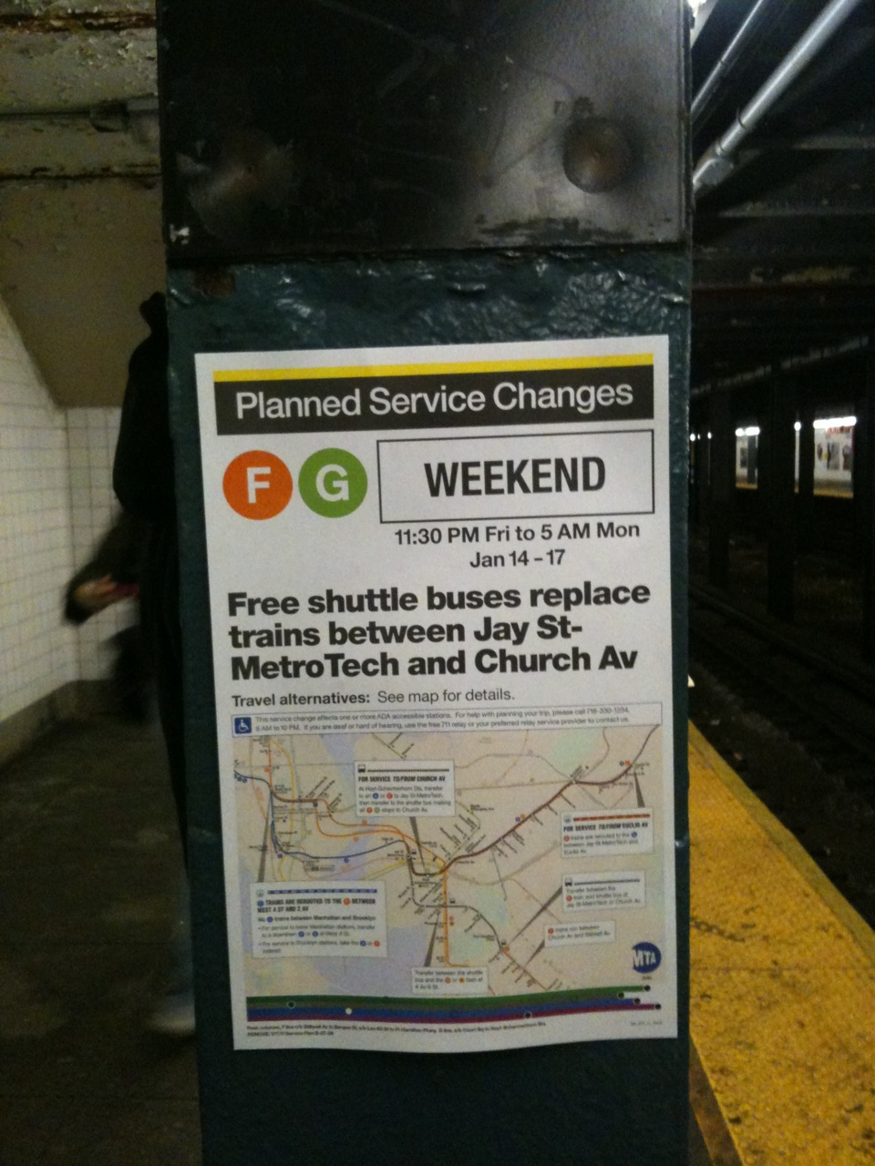 Who is the lead designer at MTA now? A serious come-up with their information design.