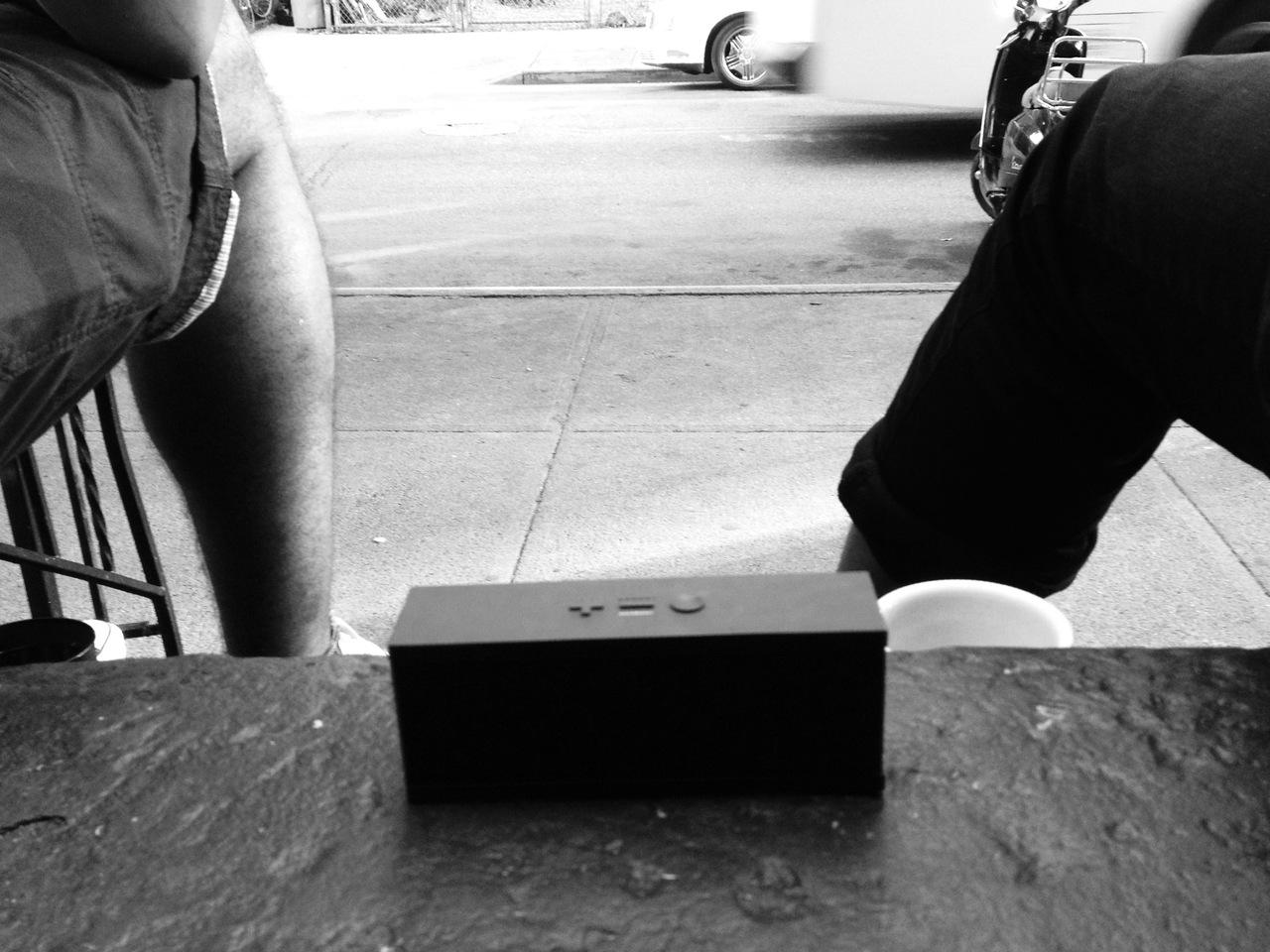 #jambox on the stoop