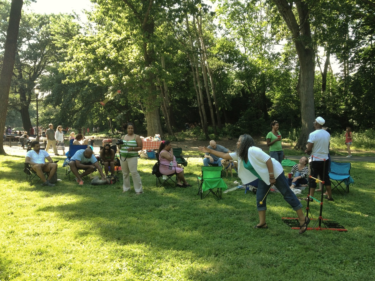 prospect park for a fathers day picnic