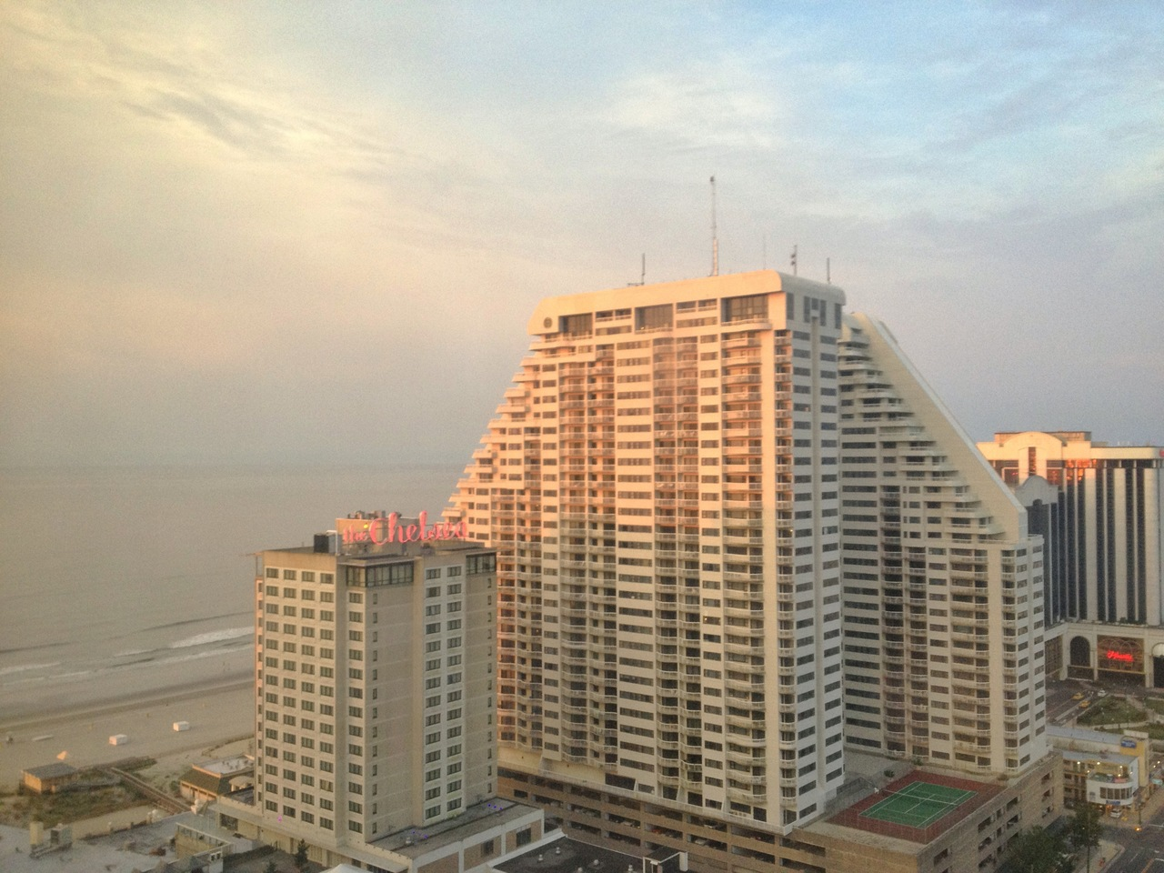 A view from Tropicana'a West Tower in Atlantic City