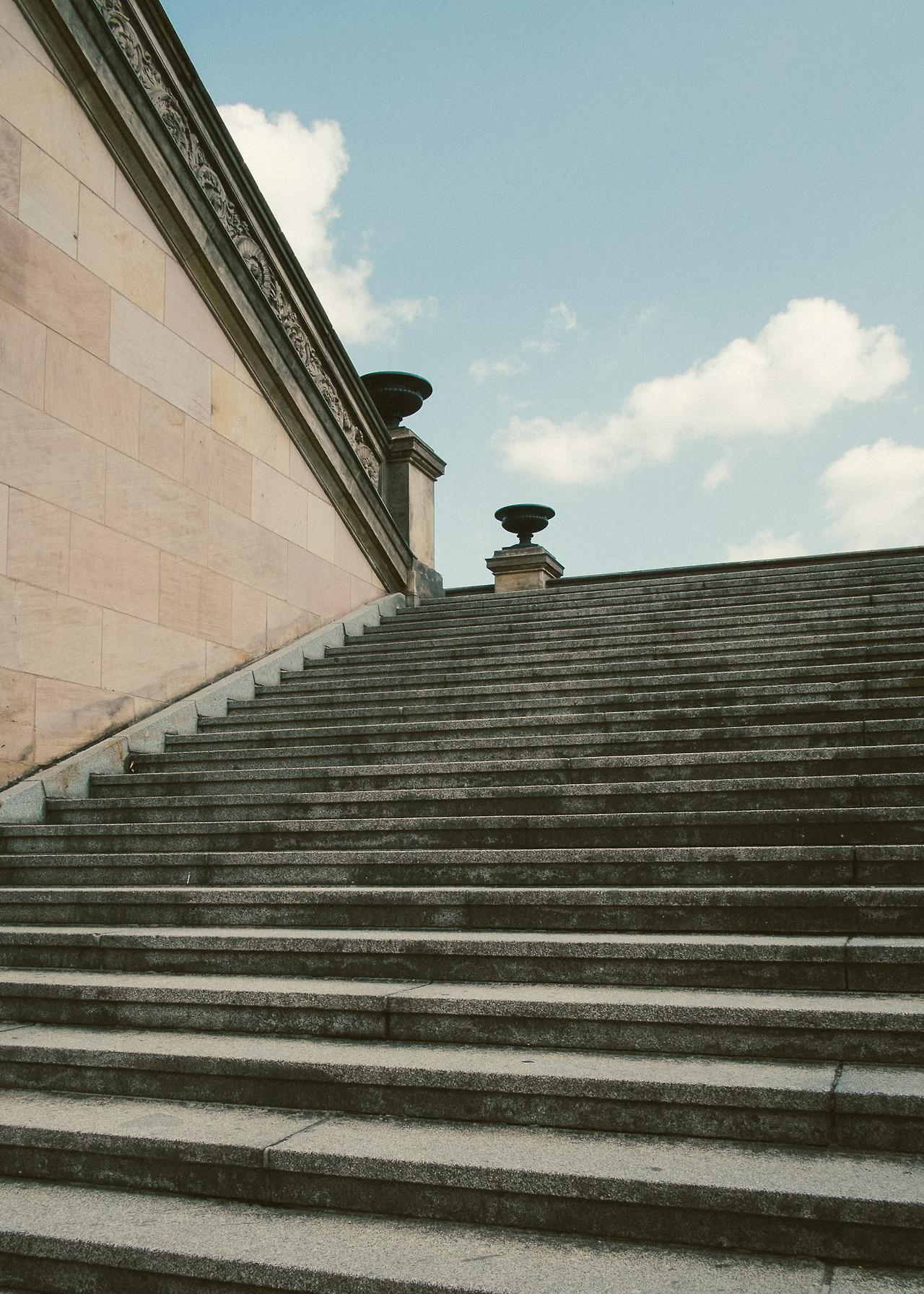 Steps on Museum Island