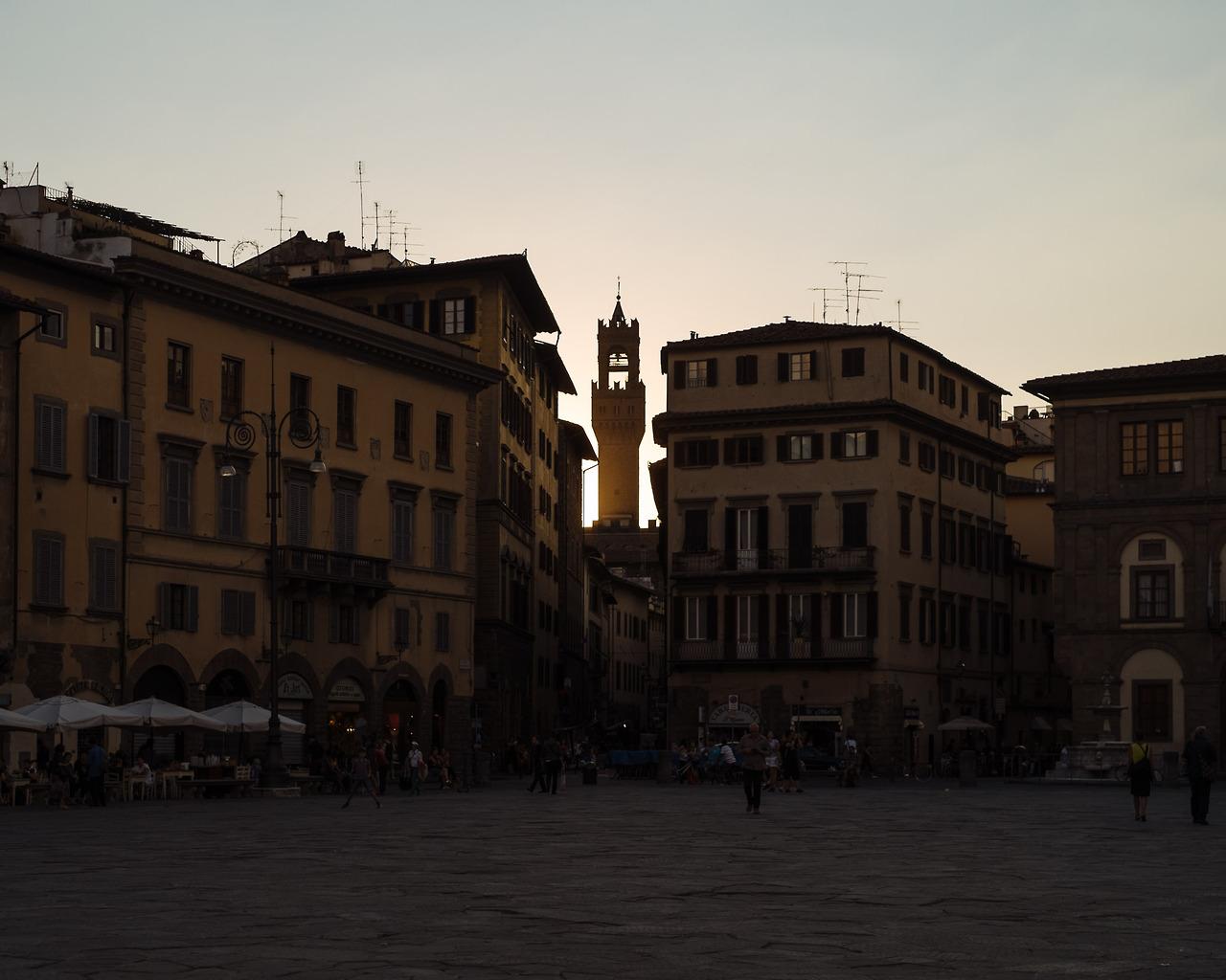 Piazza Signoria inFlorence.