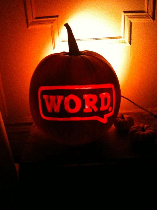 lorenbrowder :     Word! Happy holloween.     loren hooked it up