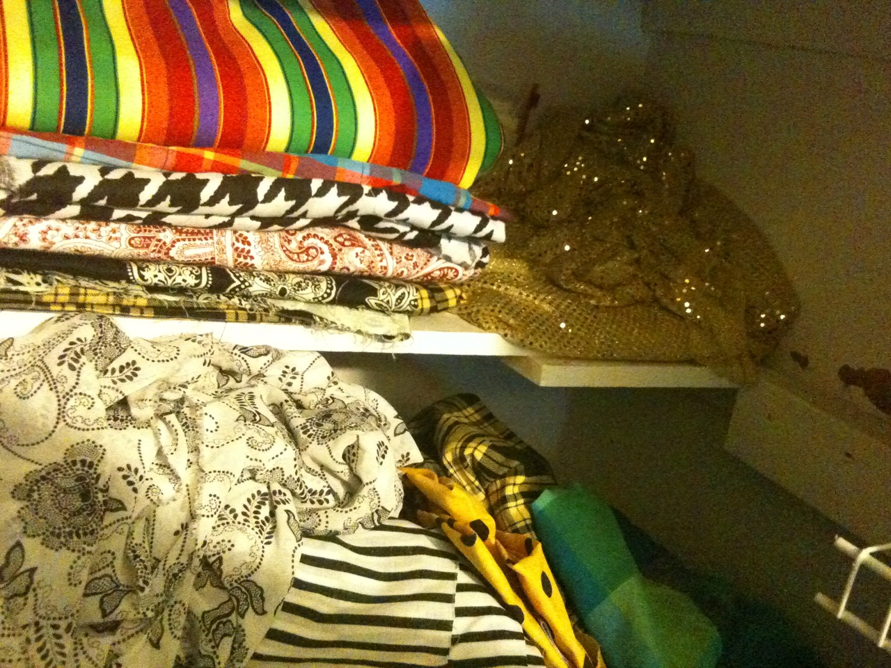 Don't want to use the same backgrounds twice but what do I do with all this fabric!?
