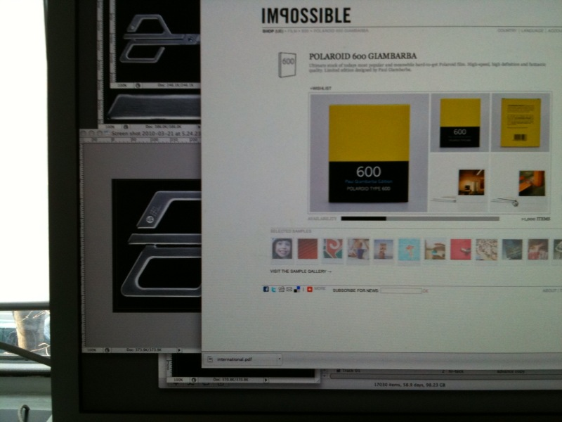 where have i been? impossible project release film already? and how dope is the  packaging