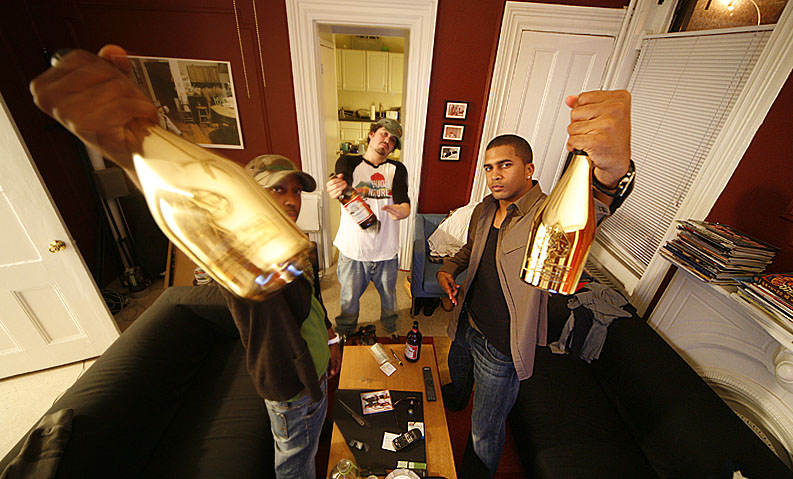 2006.   gold bottles pre  jay z co-sign .