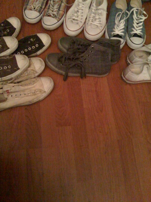 I once told my girl i would never wear chucks…never say never