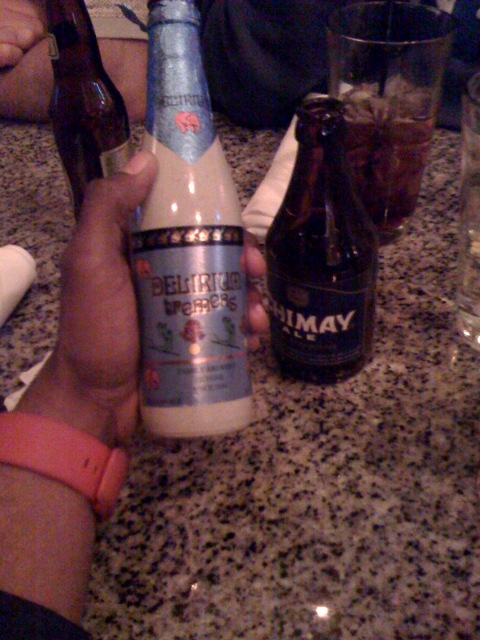 Chimay 1st, Delirium 2nd