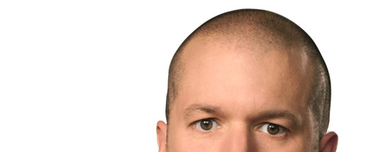 The head of Sir Jony Ive