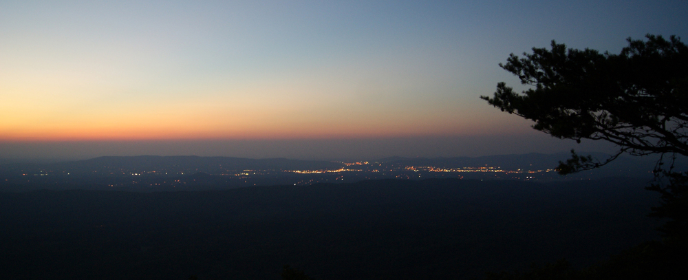 View of Oxford, Bald Rock, Cheaha