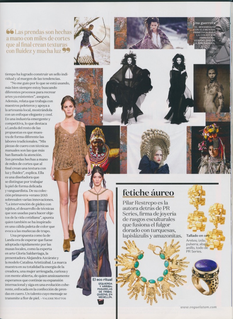 VOGUE LATAM JULY 2015