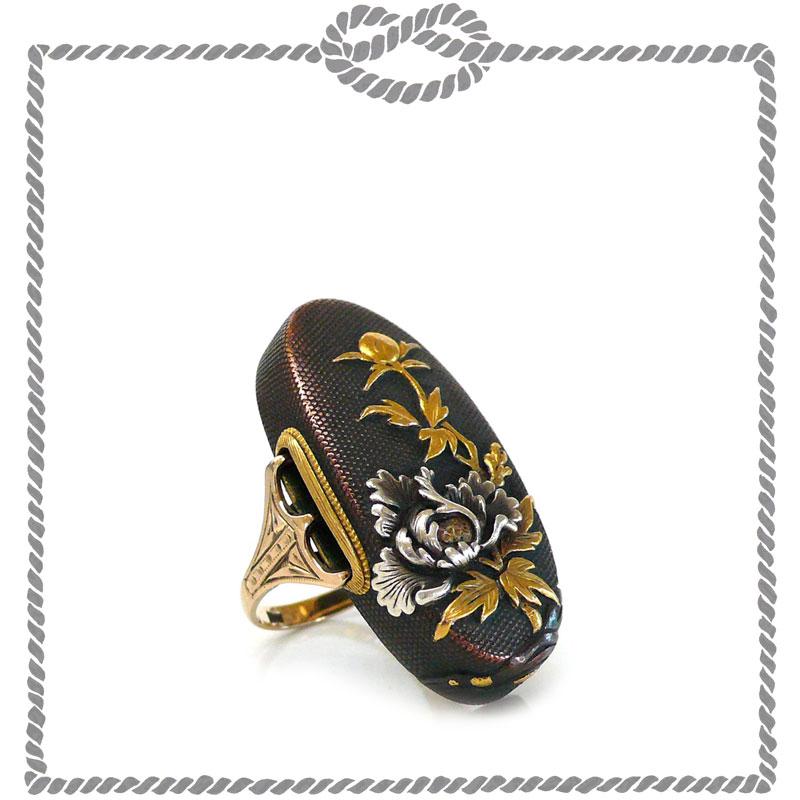 Shakudo Ring