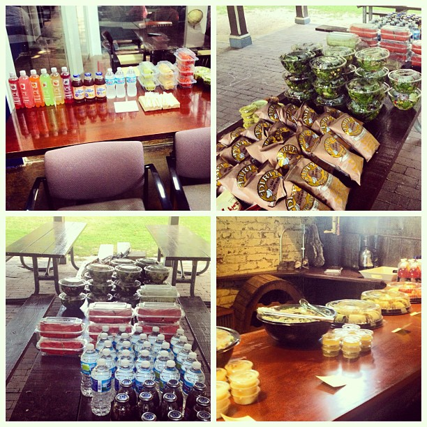 #stlcatering galore...what a week! #cwe #stl #ecohealthy