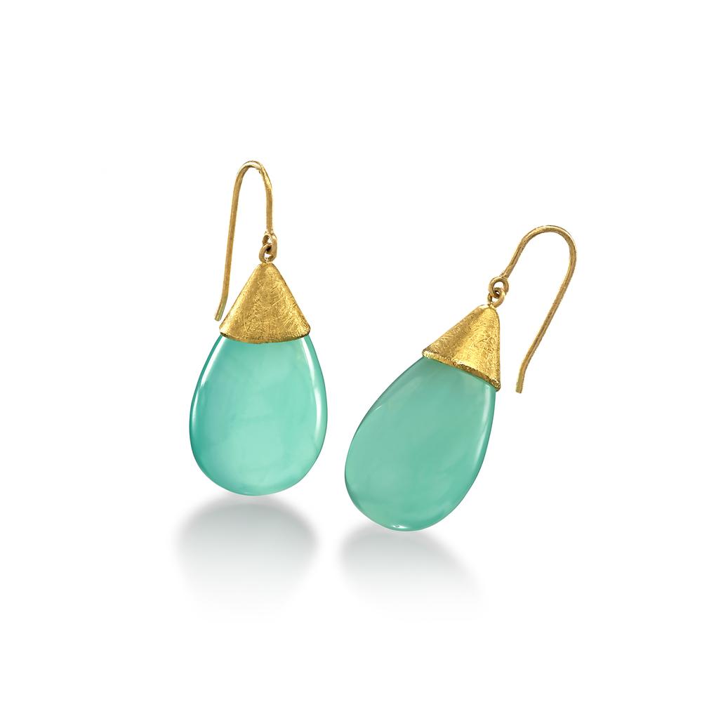 Calcite Drop Earrings