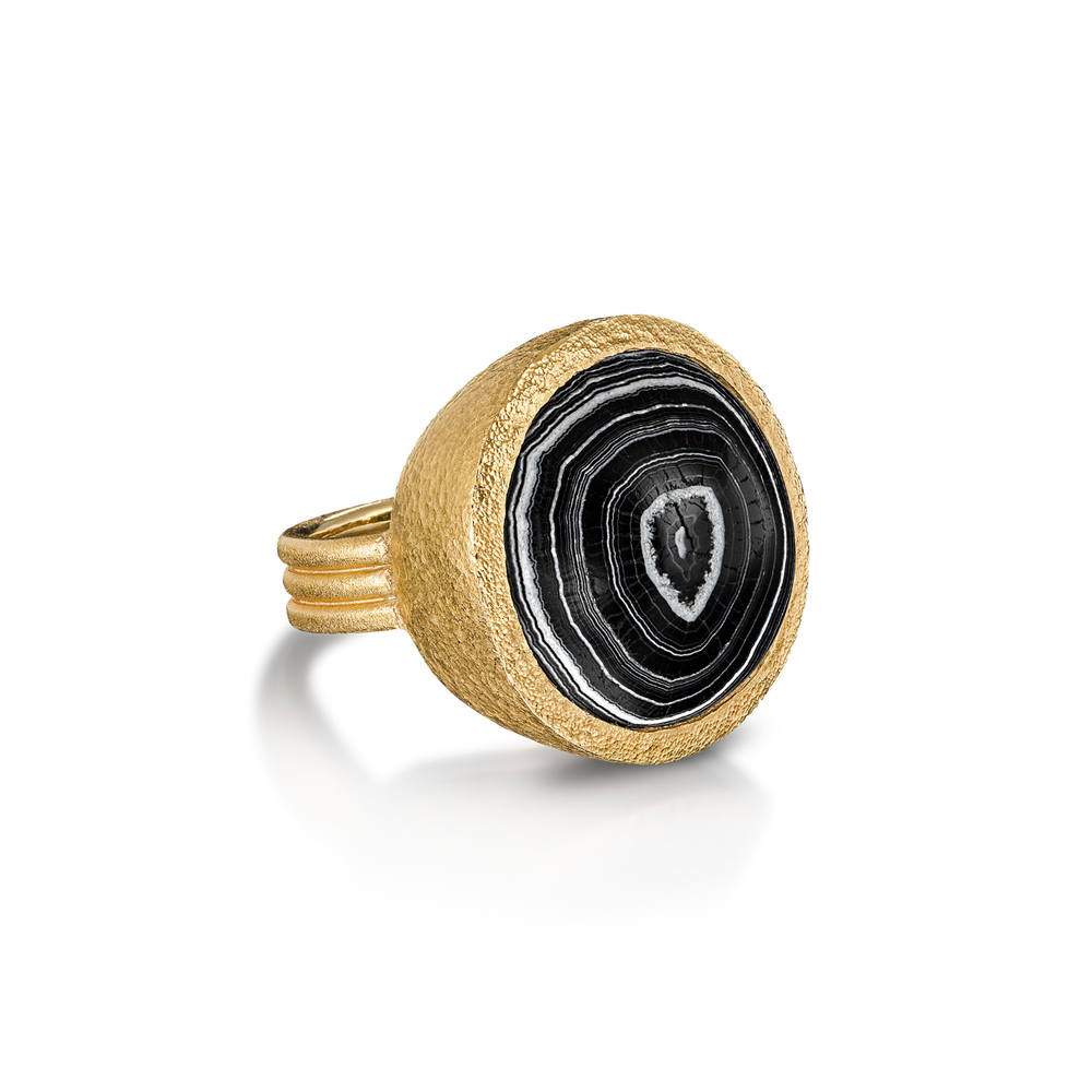 Ancient Banded Agate Ring