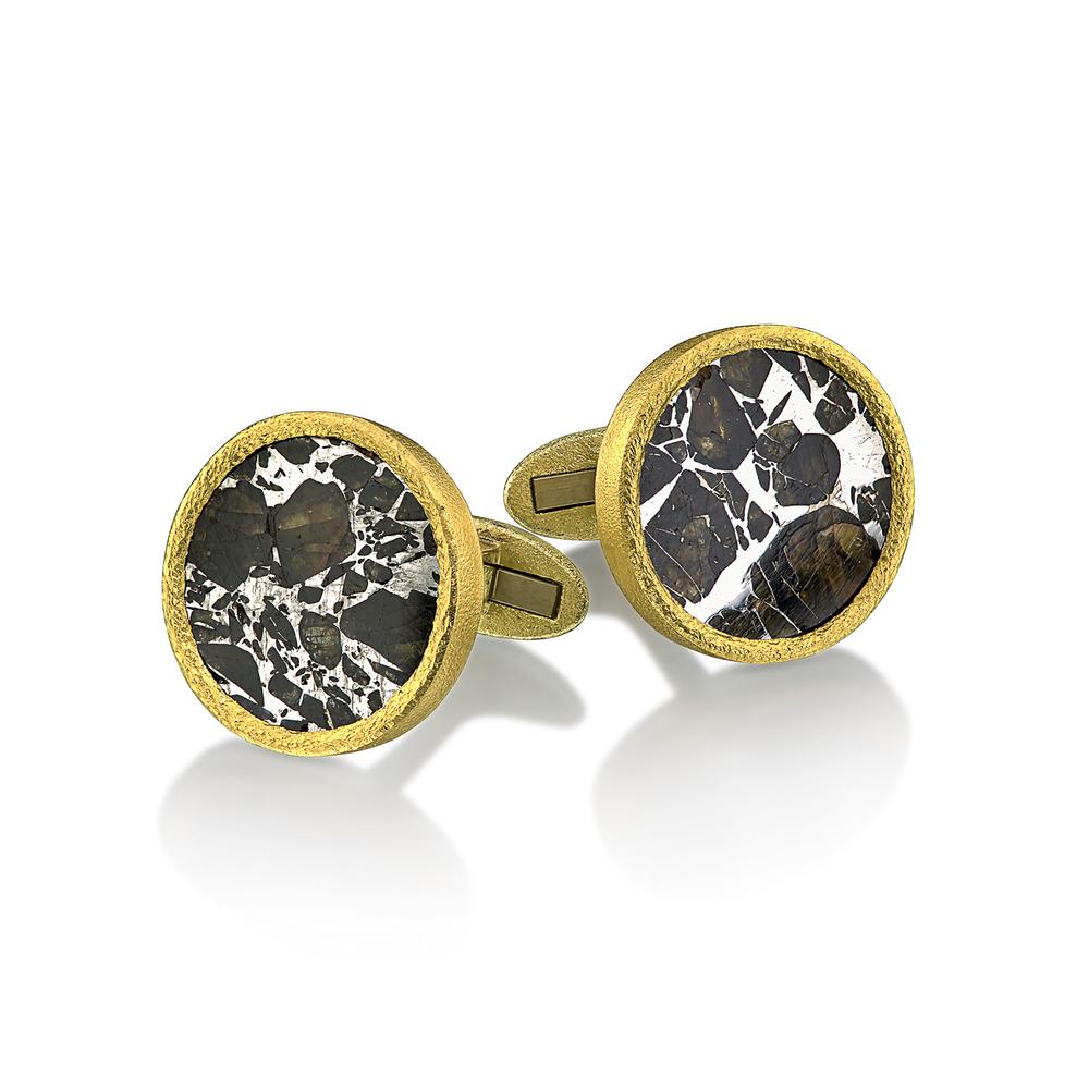 Meteorite Cufflinks