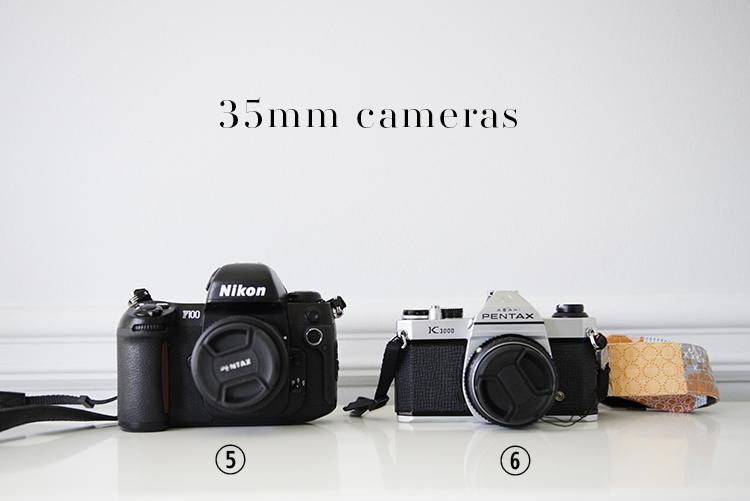 A. Jarrett 35mm cameras