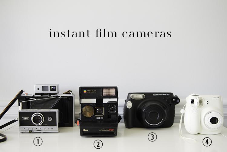 A. Jarrett Instant Film Cameras