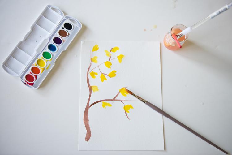 Adventures in Watercoloring - Azzari Jarrett