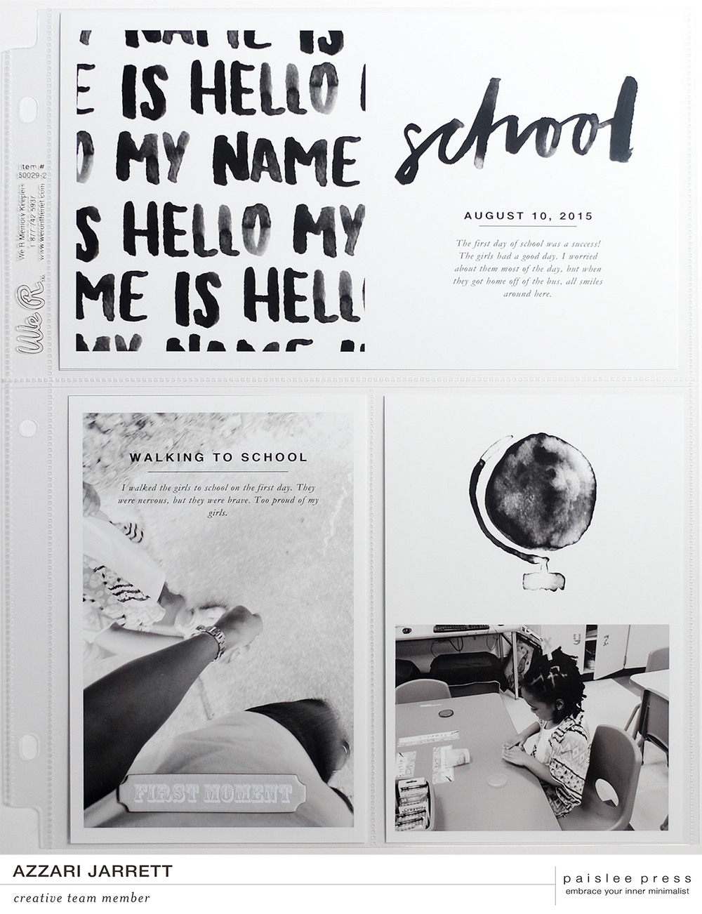 School Layout | Azzari Jarrett