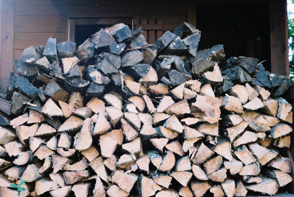 Firewood, Pentax K1000 | Azzari Jarrett