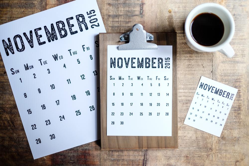 November 2015 Free Calendar Printable | Azzari Jarrett