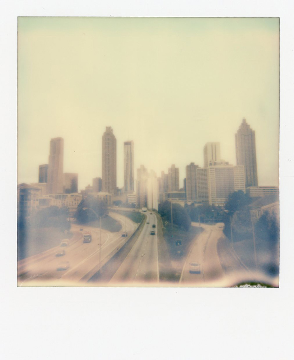 Atlanta, Georgia | Impossible Color Film | Polaroid | Azzari Jarrett