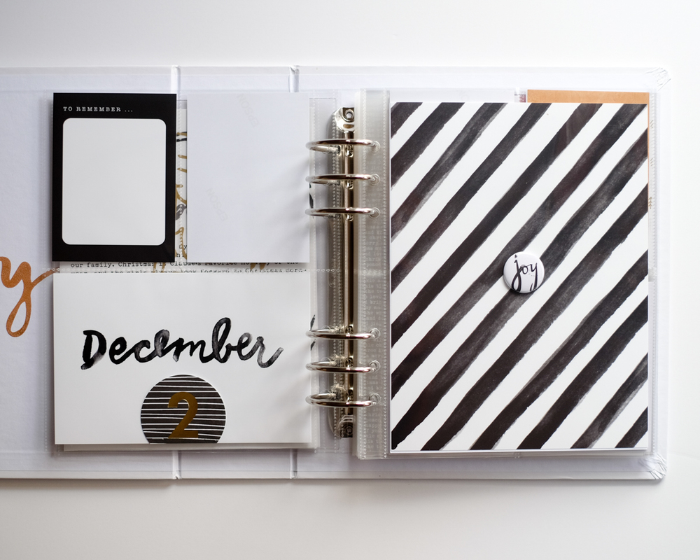 December Daily 2015 Foundation Pages | Azzari Jarrett
