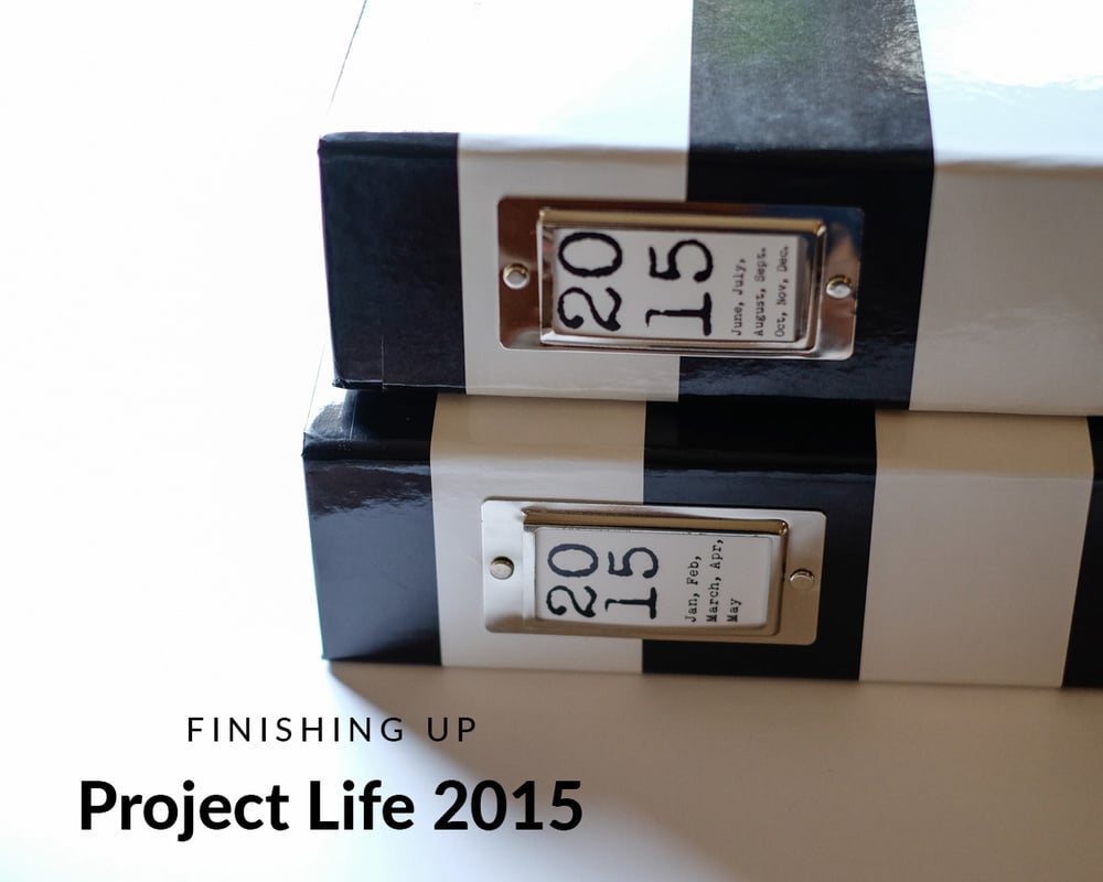 Finishing Up Project Life 2015 | Azzari Jarrett