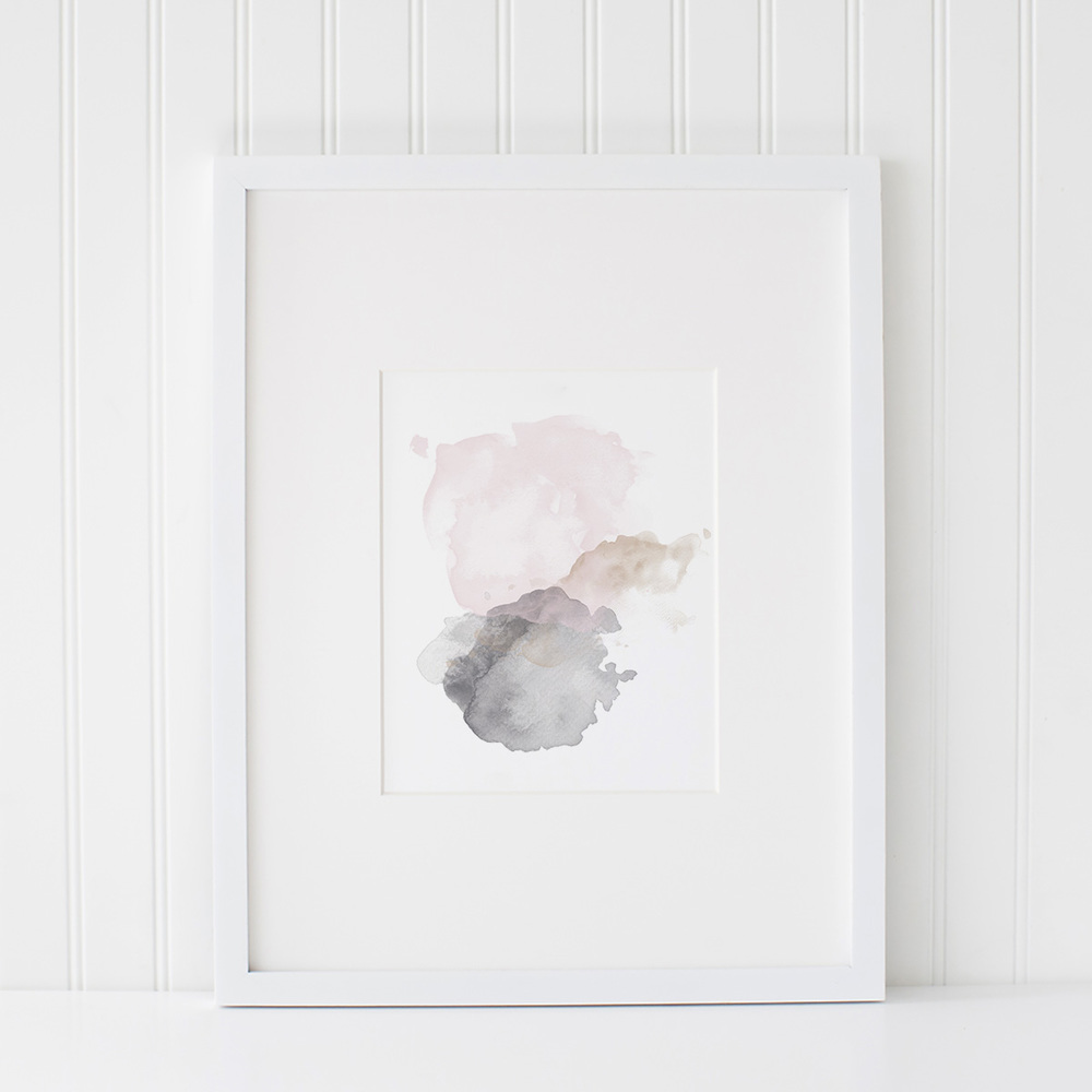 Azzari Jarrett | Abstract Watercolor Printable