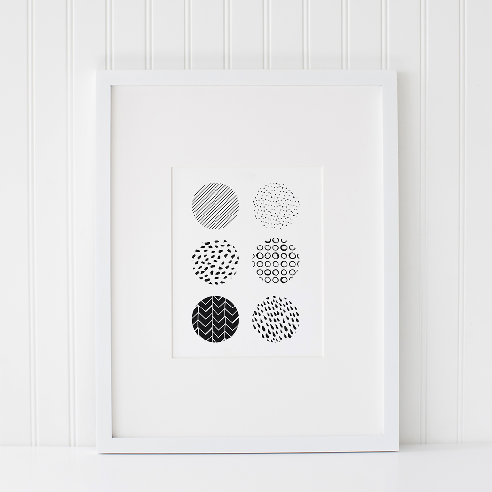 Azzari Jarrett | Abstract Black and White Printable