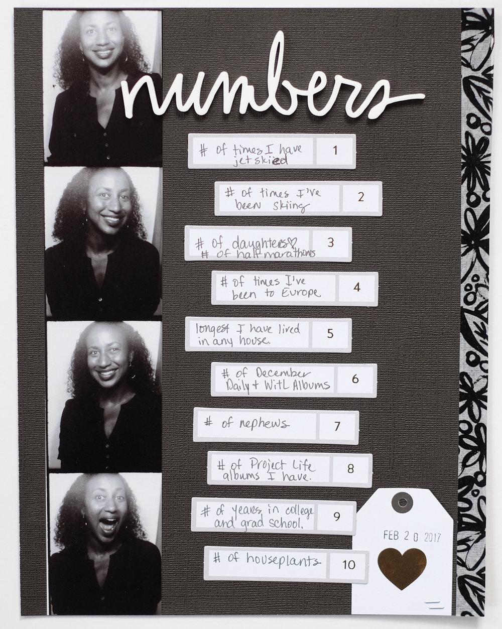 Azzari Jarrett | Numbers Story Theme