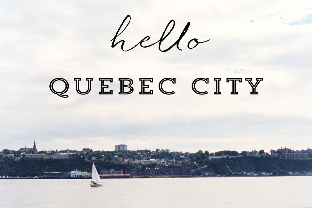 Hello Quebec City