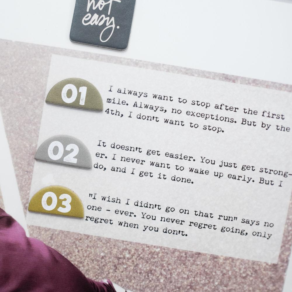 Azzari Jarrett | Habit Story Theme | Ali Edwards Story Themes