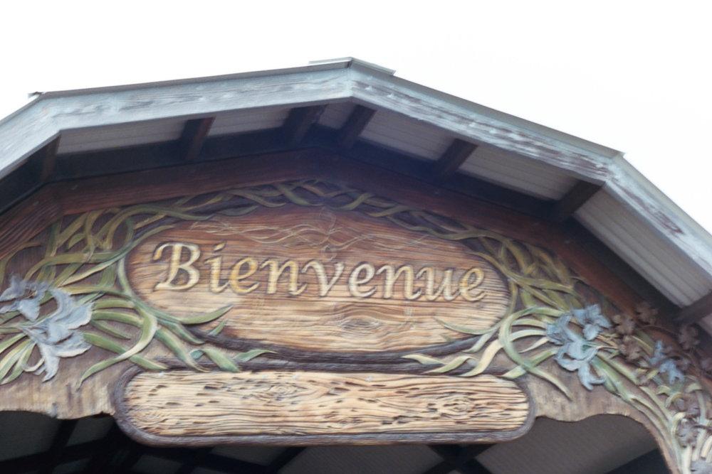 Bienvenue, Prejean's Restaurant in Lafayette, Louisiana on 35 mm Film by Azzari Jarrett