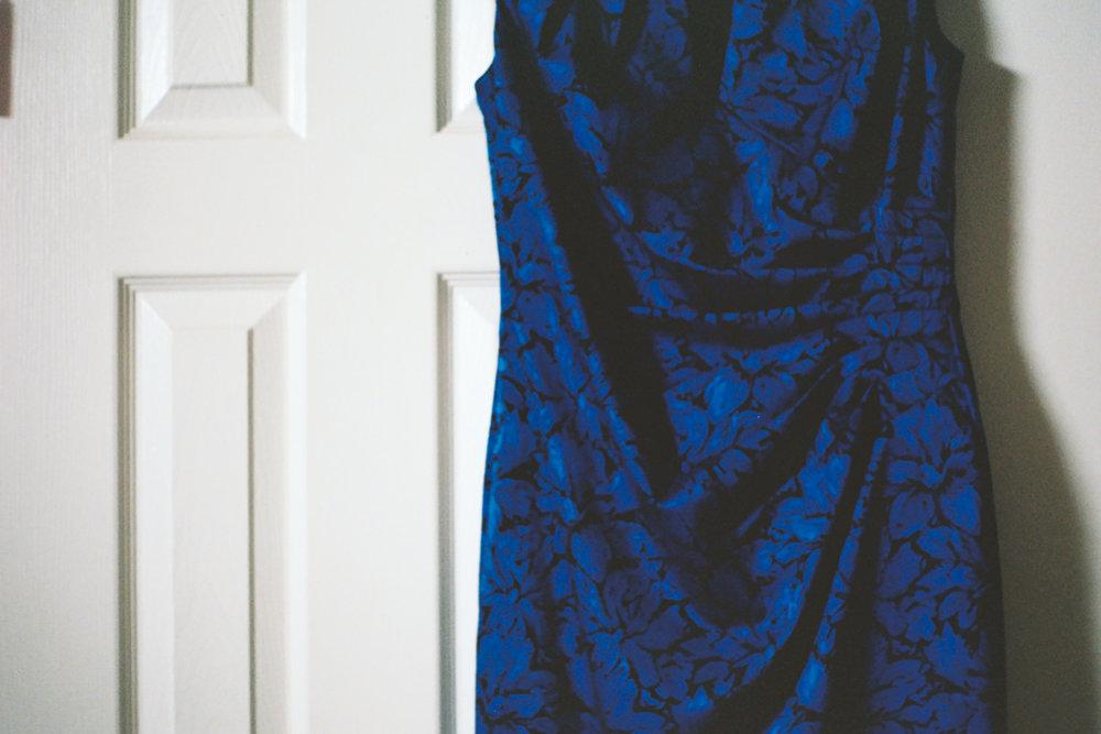Dress captured on 35mm Film by Azzari Jarrett