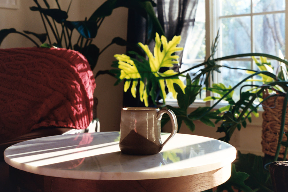 Morning cup of coffee on 35mm film by Azzari Jarrett