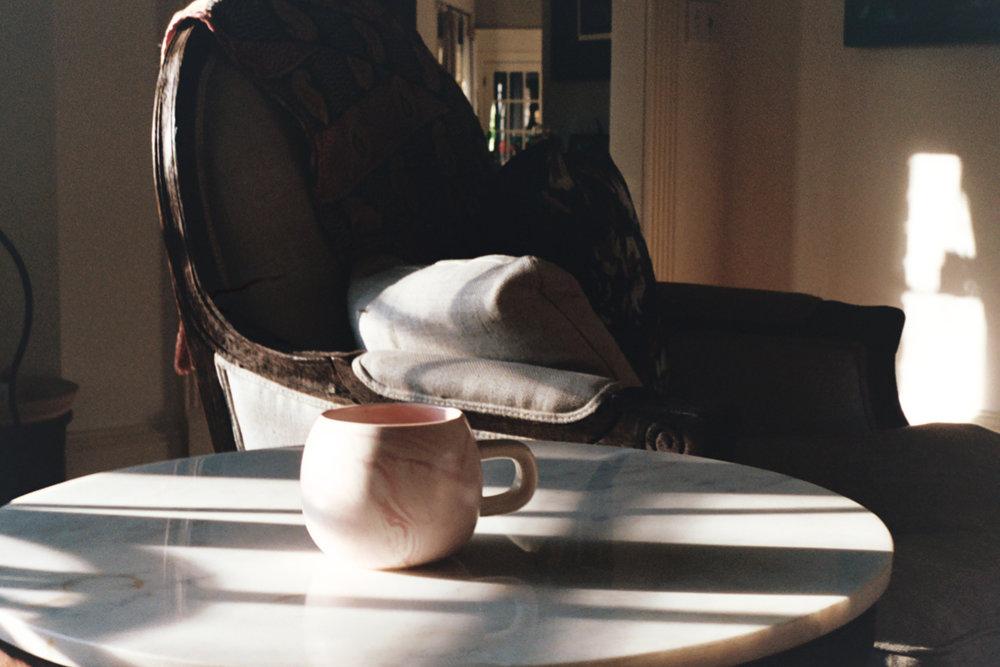 Morning Light and coffee on 35mm film by Azzari Jarrett