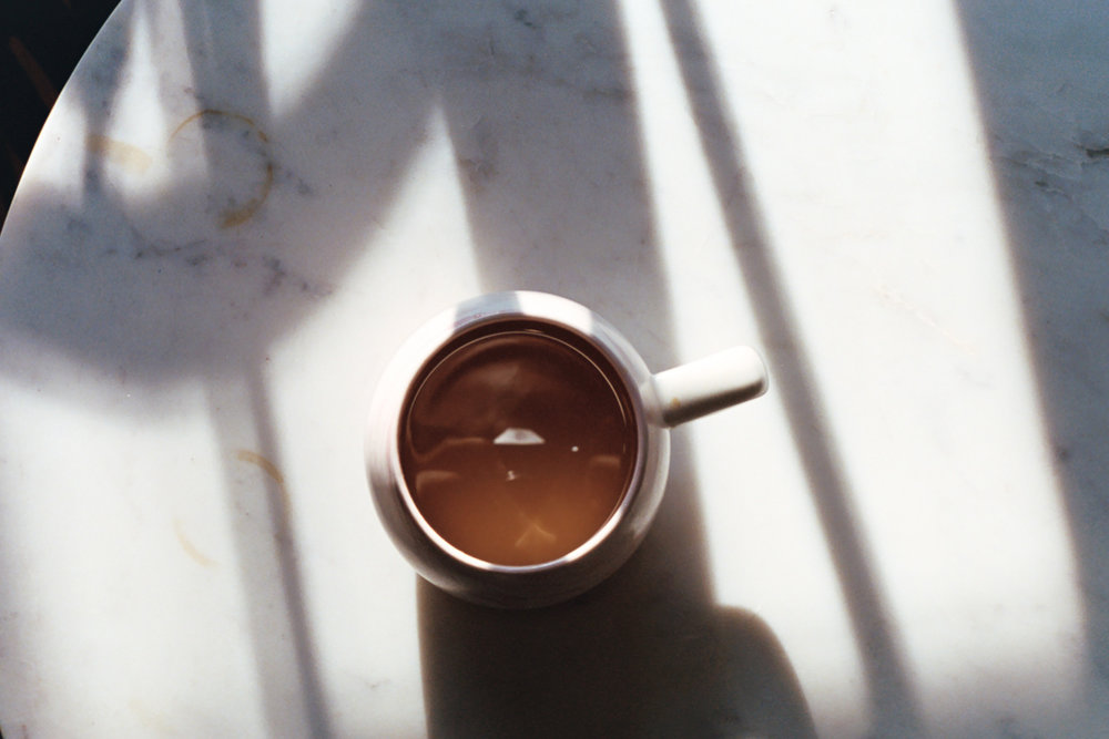 Morning Light and coffee on 35mm film by Azzari Jarrett