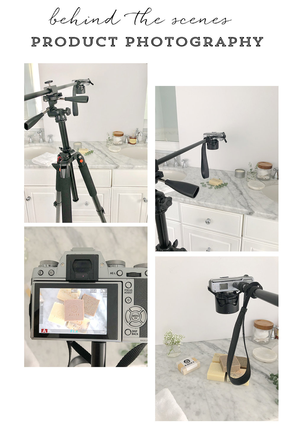 Behind the Scenes - Product Photography