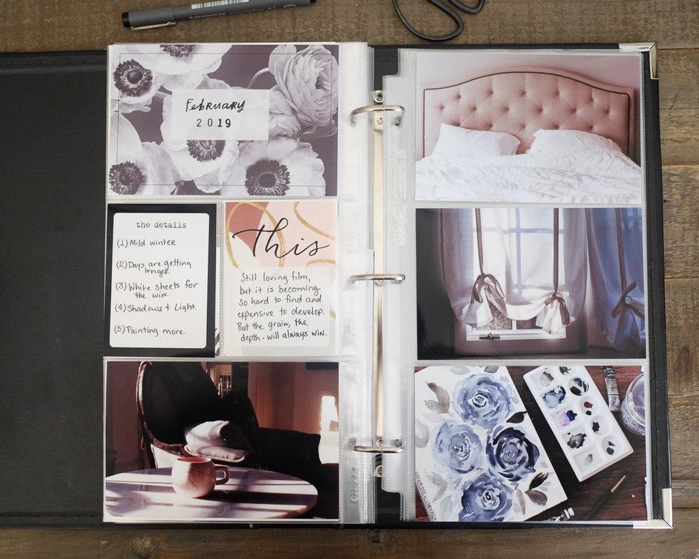 6x12 Project Life Layout by Azzari Jarrett