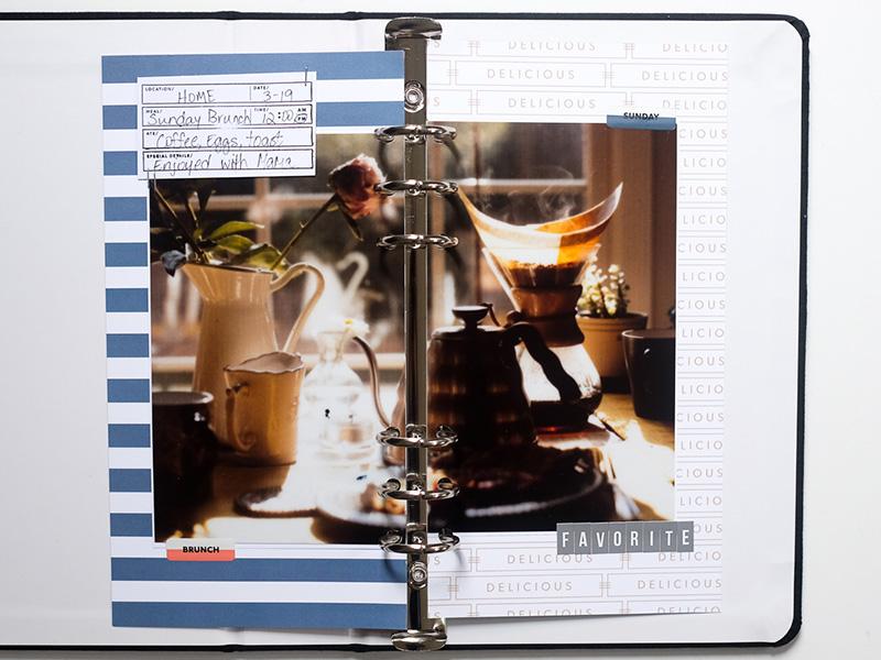 Traveler's Notebook Layout by Azzari Jarrett
