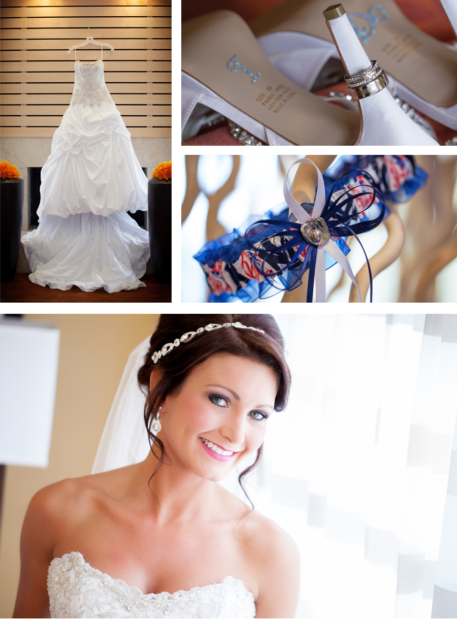 Paige you looked stunning on your wedding day.  You simply glow with happiness.