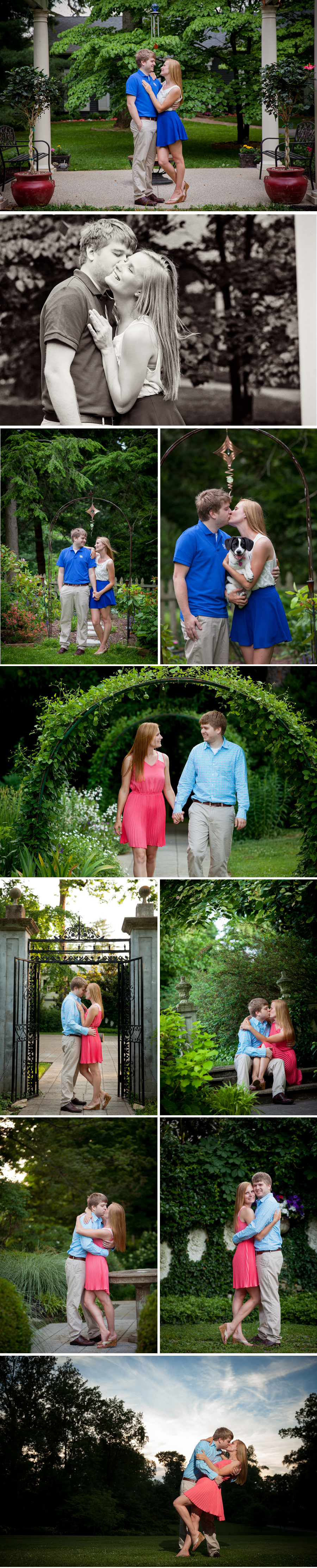 Whitehall engagement photos