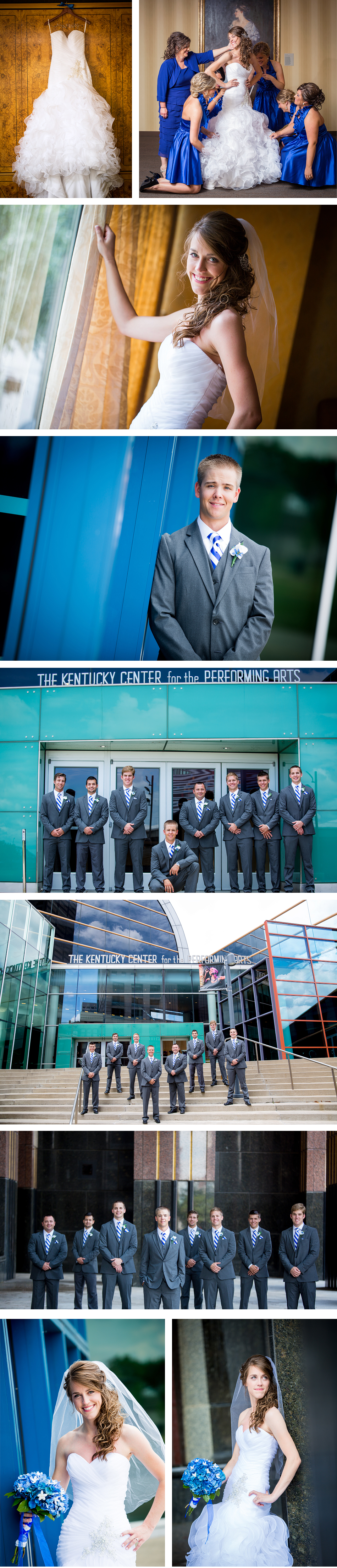 Kentucky Center for the Arts Wedding Photos
