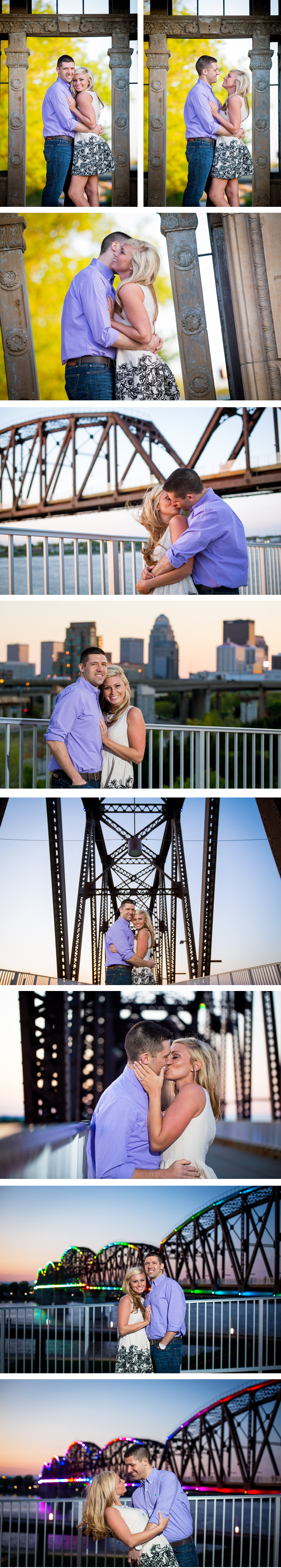 Downtown Louisville Engagement Photos eMotion image