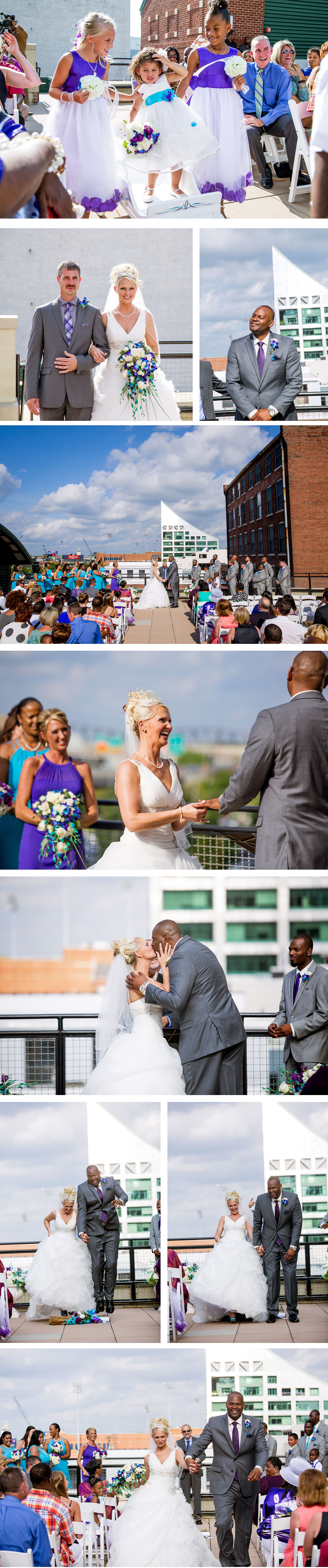 Ice House Rooftop Wedding